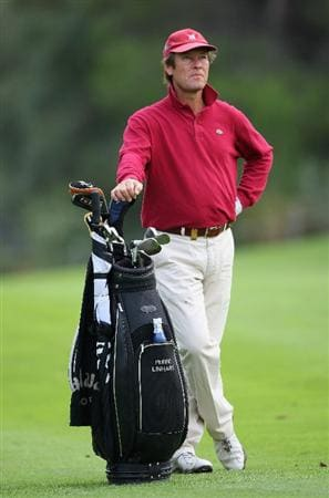 CASTELLO, SPAIN - OCTOBER 25:  Pedro Linhart of Spain during the third round of the Castello Masters Costa Azahar at the Club de Campo del Mediterraneo on October 25, 2008 in Castello, Spain.  (Photo by Stuart Franklin/Getty Images)