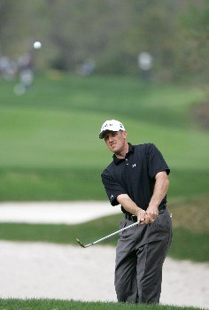 Jay Williamson during the second round of THE PLAYERS Championship at the Tournament Players Club at Sawgrass in Ponte Vedra Beach, Florida on March 26, 2005.