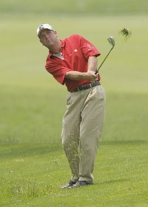 Harrison Frazar during the first round of the Buick Championship held at TPC River Highlands in Cromwell, Connecticut, on June 29, 2006.Photo by Jim Rogash/WireImage.com