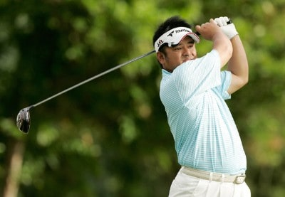 Kiyoshi Miyazato hits his drive at the first tee box during the first round at the Sony Open in Hawaii held at Waialae Country Club on January 10, 2008 in Honolulu, Hawaii. PGA TOUR - 2008 Sony Open in Hawaii - First RoundPhoto by Stan Badz/PGA TOUR/WireImage.com