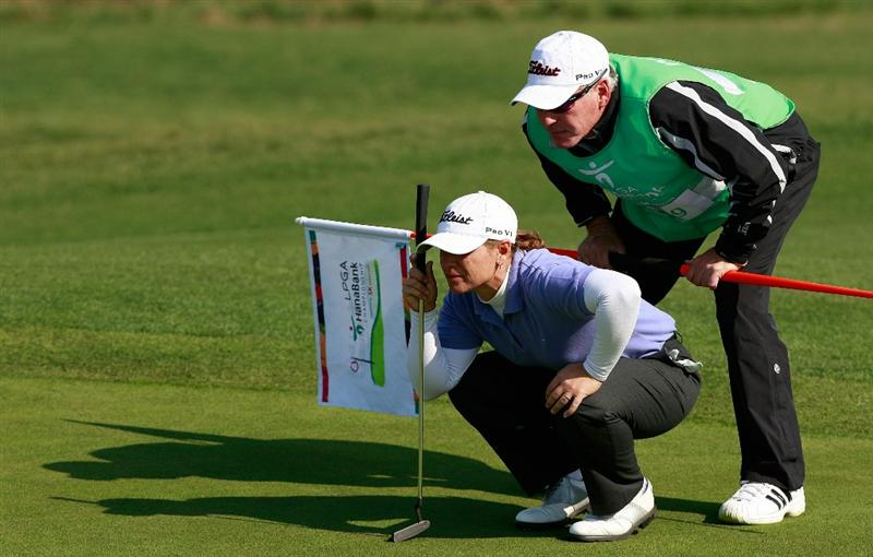 INCHEON, SOUTH KOREA - OCTOBER 30:  Heather Bowie Young of United States on the 12th hole during the 2010 LPGA Hana Bank Championship at Sky 72 Golf Club on October 30, 2010 in Incheon, South Korea.  (Photo by Chung Sung-Jun/Getty Images)