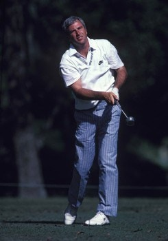Curtis Strange at the 1988 TOUR Championship at Eastlake CC in Atlanta, GA
