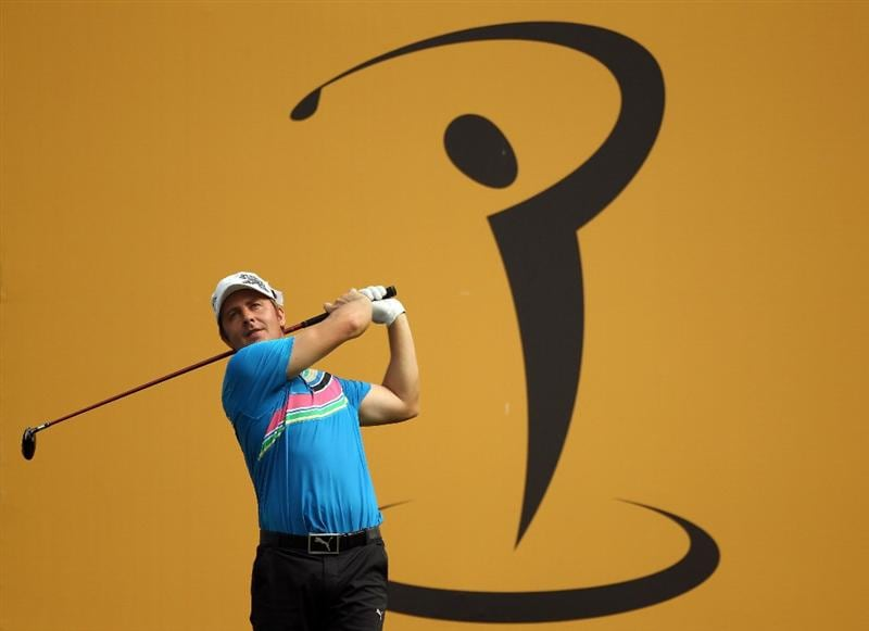 KUALA LUMPUR, MALAYSIA - APRIL 14:  Chris Rodgers of England in action during the first round of the Maybank Malaysian Open at Kuala Lumpur Golf & Country Club on April 14, 2011 in Kuala Lumpur, Malaysia.  (Photo by Ian Walton/Getty Images)