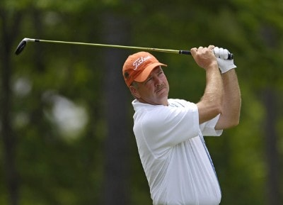 Tom McKnight during the second round of the Regions Charity Classic held at Robert Trent Jones Golf Trail at Ross Bridge in Birmingham, Alabama, on May 6, 2006.Photo by Steve Levin/WireImage.com