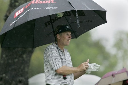 Wayne Levi in action during the first round of the Greater Hickory Classic at Rock Barn on the Jones Course  in Conover, North Carolina on October 7, 2005.Photo by Michael Cohen/WireImage.com