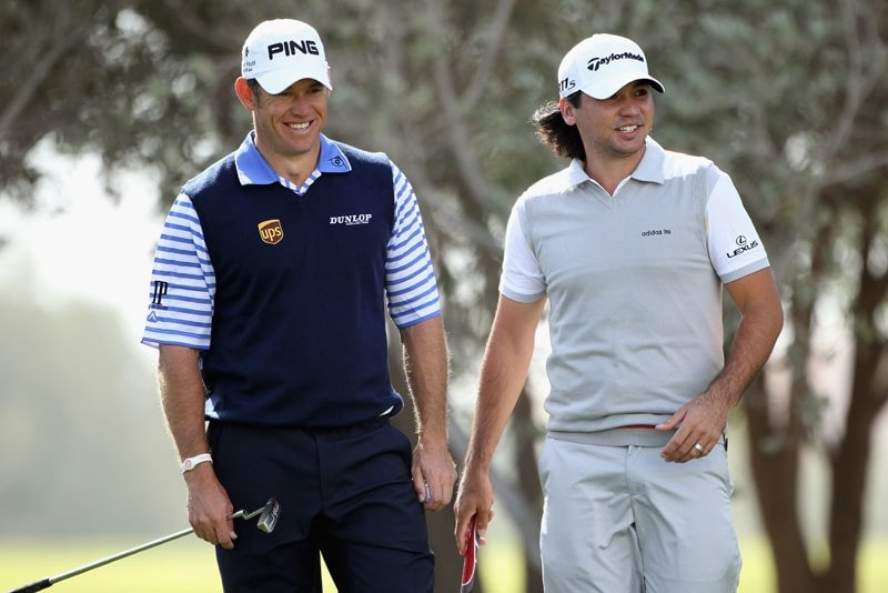 Lee Westwood and Jason Day