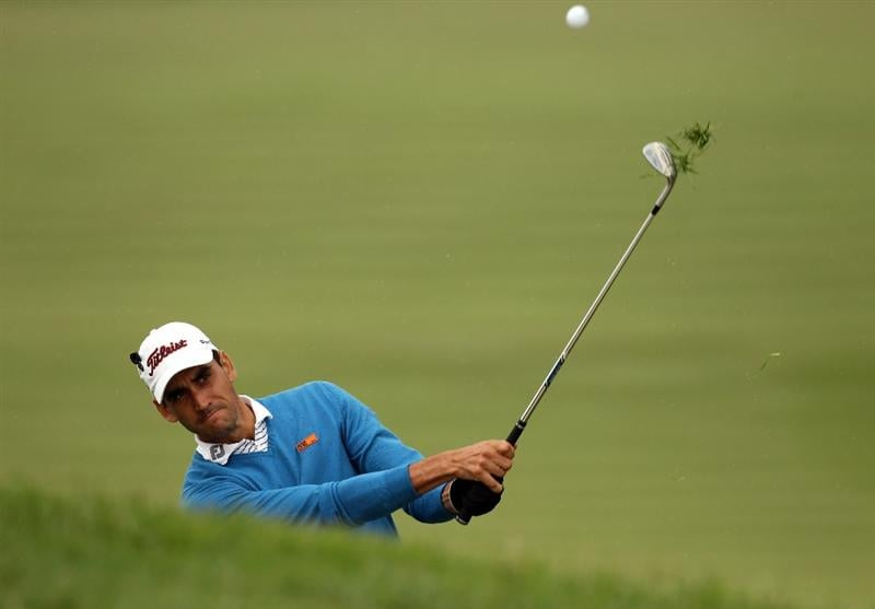 BARCELONA, SPAIN - MAY 07:  Rafael Cabrera-Bello of Spain during the third round of the Open de Espana at the the Real Club de Golf El Prat on May 7 , 2011 in Barcelona, Spain.  (Photo by Ross Kinnaird/Getty Images)