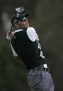 Hank Kuehne during the second round for THE PLAYERS Championship held at the TPC Stadium Course in Ponte Vedra Beach, Florida on March 24, 2006.Photo by Sam Greenwood/WireImage.com