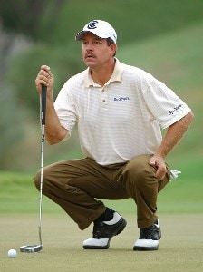 Bart Bryant in action during the second round of the Valero Texas Open at The Resort Course at La Cantera on  Friday, September 22, 2006 in San Antonio, Texas. PGA TOUR - 2006 Valero Texas Open - Second RoundPhoto by Marc Feldman/WireImage.com
