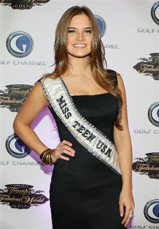 NEW YORK - MARCH 31:  Miss Teen USA Stormi Bree Henley poses for a photo prior to a special screening of Golf Channel's new celebrity reality series, Donald J Trump's Fabulous World of Golf on March 31, 2010 at Trump Towers in New York, New York.  (Photo by Mike Stobe/Getty Images for Golf Channel)