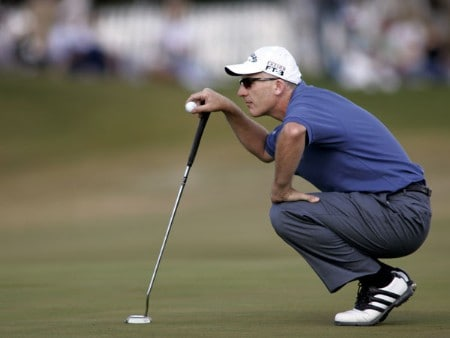 Phillip Price in action during the final round of the 2005 Michelin Championship at Las  Vegas Sunday, Oct. 16, 2005, at the The Players Club at Summerlin in Las Vegas, Nevada.Photo by Grant Halverson/WireImage.com