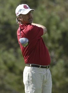 Andrew Magee during the first round of 'The International' at Castle Pines Golf Club on Thurday, August 10, 2006 in Castle Rock, ColoradoPhoto by Marc Feldman/WireImage.com