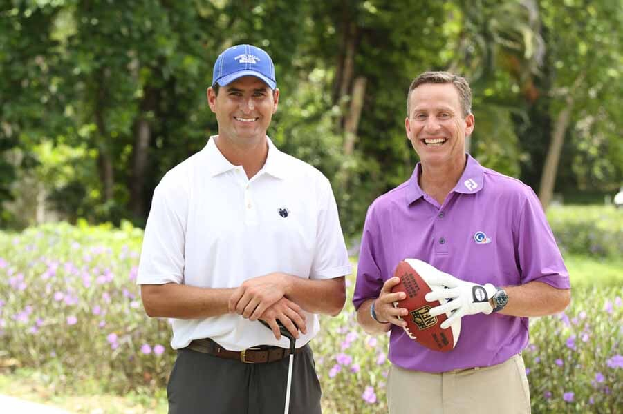 Marc Bulger and Michael Breed on Big Break Academy
