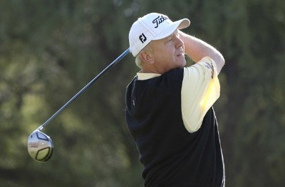 Billy Mayfair in action during the first round of the FBR Open at the TPC Players Course on Thursday, February 2, 2006 in Scottsdale, Arizona.Photo by Marc Feldman/WireImage.com