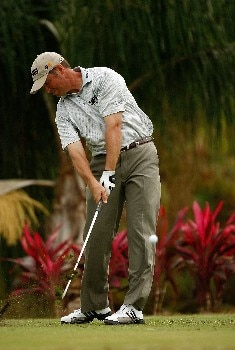 RIO GRANDE, PUERTO RICO - MARCH 21:  Ted Purdy hits his tee shot on the 11th hole during the second round of the Puerto Rico Open presented by Banco Popular held on March 21, 2008 at Coco Beach Golf & Country Club in Rio Grande, Puerto Rico.  (Photo by Mike Ehrmann/Getty Images)