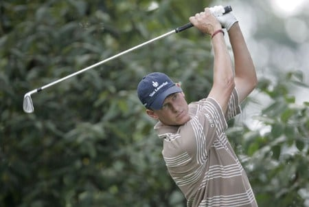 Maarten Lafeber during the third practice round of the 2005 PGA Championship at Baltusrol Golf Club in Springfield, New Jersey on August 10, 2005.Photo by Hunter Martin/WireImage.com
