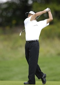 Esteban Toledo during the fourth and final round of the Legend Financial Group Classic at the Stone Water Golf Club in Cleveland, Ohio on Sunday, September 3, 2006.Photo by Steve Levin/WireImage.com