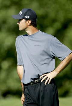 Glen Hnatiuk on the 6th hole during the first round of the Deutsche Bank Championship held at the TPC Boston in Norton, Massachusetts on September 2, 2005.Photo by Sam Greenwood/WireImage.com