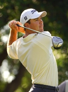 Arron Oberholser during second round of the Bank of America Colonial held at the Colonial Country Club on Tuesday, May 19, 2006 in Ft. Worth, TexasPhoto by Marc Feldman/WireImage.com