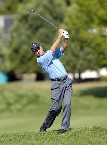Ben Crenshaw during the second round of the JELD-WEN Tradition at The Reserve Vineyards & Golf Club in Aloha, Oregon on Friday, August 25, 2006.Photo by Steve Levin/WireImage.com