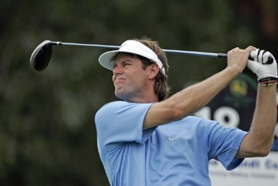 Paul Azinger during the first round of the John Deere Classic at TPC at Deere Run in Silvis, Illinois on July 13, 2006.Photo by Michael Cohen/WireImage.com