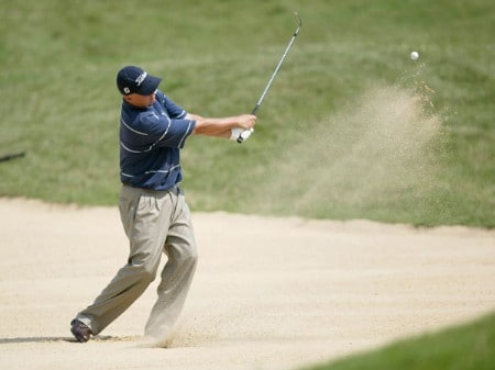 Jason Dufner during the third round of the 2005 National Mining Association Pete Dye Classic at the Pete Dye Golf Club in Bridgeport, West Virginia on Saturday, July 9th, 2005.Photo by Hunter Martin/WireImage.com