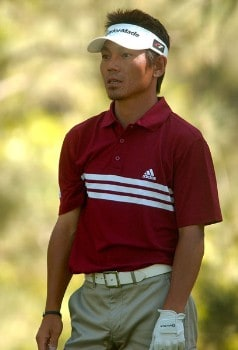 Hidemichi Tanaka in action during the final round of The 2005 INTERNATIONAL at Castle Pines Country Club in Castle Rock, Colorado August 7, 2005.Photo by Steve Grayson/WireImage.com
