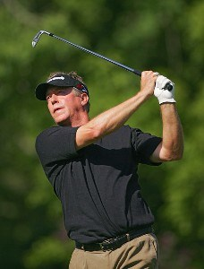 Michael Allen during the first round the 2006 Wachovia Championship at the Quail Hollow Club in Charlotte, North Carolina on May 4, 2006.Photo by Sam Greenwood/WireImage.com