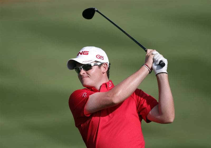 BARCELONA, SPAIN - MAY 06:  Gary Boyd of England during the second round of the Open de Espana at the the Real Club de Golf El Prat on May 6 , 2011 in Barcelona, Spain.  (Photo by Ross Kinnaird/Getty Images)