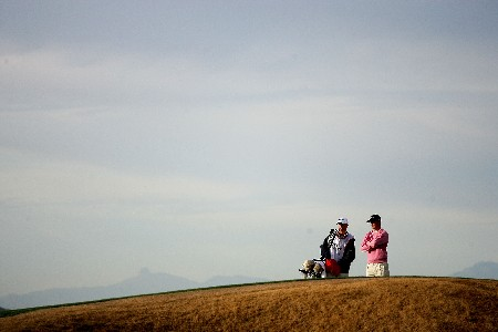 MARANA, AZ - FEBRUARY 20:  Martin Kaymer of Germany waits to putt on the third hole during the first round matches of the WGC-Accenture Match Play Championship at The Gallery at Dove Mountain on February 20, 2008 in Marana, Arizona.  (Photo by Travis Lindquist/Getty Images)
