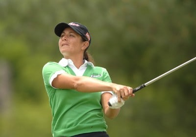 Laura Diaz in action during the third round of the 2006 Franklin American Mortgage Championship benefiting the Monroe Carell Jr. Children's Hospital at Vanderbilt at Vanderbilt Legends Club in Franklin, Tennessee on May 5, 2006.Photo by Steve Grayson/WireImage.com