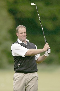 John Bickerton during the final round of the 2005 KLM Open at Hilversumsche Golf Club. June 12, 2005Photo by Pete Fontaine/WireImage.com