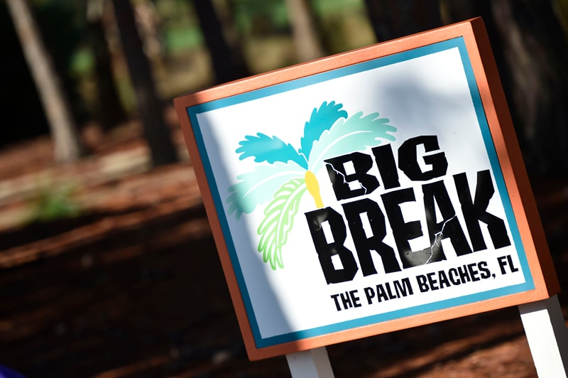 Big Break The Palm Beaches, FL scenery