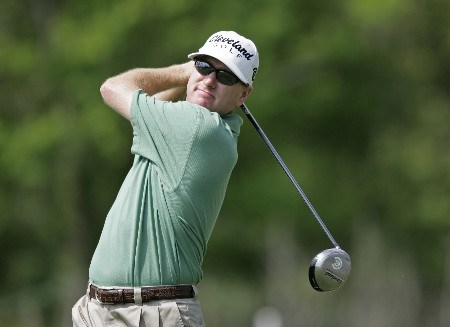 PGA Tour-Zurich Classic of New Orleans-1st Round:  Steve Flesch on the 11th hole during the second round of the Zurich Classic being played at The TPC of New Orleans in New Orleans, Louisiana on April 29, 2005.Photo by Mike Ehrmann/WireImage.com