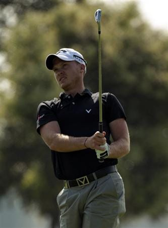 BARCELONA, SPAIN - MAY 05:  Danny Willett of England during the first round of the Open de Espana at the the Real Club de Golf El Prat on May 5 , 2011 in Barcelona, Spain.  (Photo by Ross Kinnaird/Getty Images)