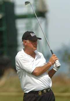 John Jacobs in action during the first round of the 2005 Boeing Greater Seattle Classic at TPC Snoqualmie in Snoqualmie, Washington August 19, 2005.Photo by Steve Grayson/WireImage.com