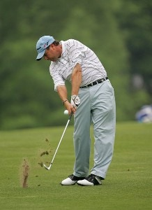 Doug Barron during the second round the 2006 Wachovia Championship at the Quail Hollow Club in Charlotte, North Carolina on May 5, 2006.Photo by Sam Greenwood/WireImage.com