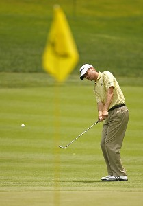 Sean O'Hair during the second round of the Memorial Tournament Presented by Morgan Stanley held at Muirfield Village Golf Club in Dublin, Ohio, on May 31, 2007. Photo by Mike Ehrmann/WireImage.com