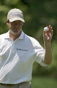 Joe Ogilvie during the third round of the John Deere Classic at TPC at Deere Run in Silvis, Illinois on July 15, 2006.Photo by Michael Cohen/WireImage.com