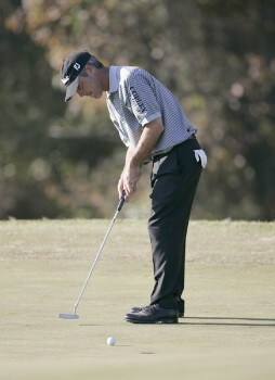 David Branshaw during the final round of the Nationwide Tour Championship held  on the Senator course at Capitol Hill GC in Prattville, Alabama on Sunday, October 30, 2005.Photo by Sam Greenwood/WireImage.com