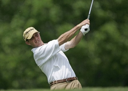 Jonathan Kaye on the third tee in the third round of the Memorial Tournament at Muirfield Village Golf Club - Dublin, Ohio. Saturday, June 4, 2005Photo by Chris Condon/PGA TOUR/WireImage.com