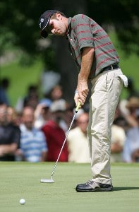 Brett Quigley during the third round of the Buick Open at Warwick Hills Golf and Country Club in Grand Blanc, Michigan on August 5, 2006.