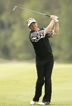 Paul Broadhurst during the second round of the 2005 KLM Open at Hilversumsche Golf Club in the Netherlands on June 10, 2005.Photo by Pete Fontaine/WireImage.com