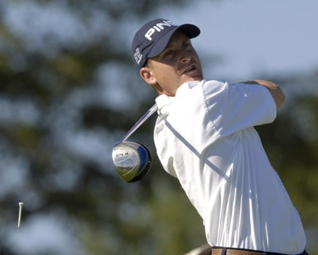 Dave Christensen fired a 68, during third round action of the Cox Classic presented by Chevrolet at the Champions Club in Omaha, Nebraska on August 6, 2005.Photo by Peter Aiken/WireImage.com