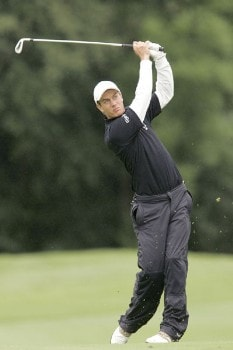 Mads Vibe-Hastrup during the second round of the 2005 Smurfit European Open on the Palmer Course at the K Club in Straffan, Ireland on July 1, 2005.Photo by Pete Fontaine/WireImage.com