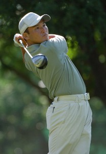 Shigeki Maruyama during first round of the Bank of America Colonial held at the Colonial Country Club on Monday, May 18, 2006 in Ft. Worth, TexasPhoto by Marc Feldman/WireImage.com
