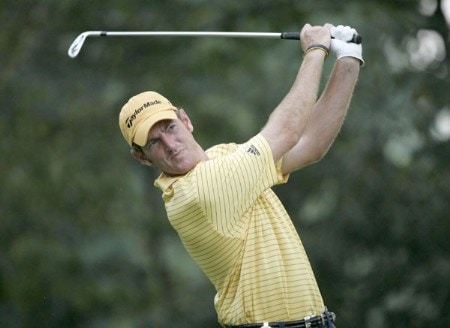 Greg Owen during the third round of the 2005 PGA Championship at Baltusrol Golf Club in Springfield, New Jersey on August 13, 2005.Photo by Hunter Martin/WireImage.com
