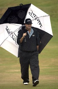 David Edwards (US) during the third round of the 2006 Senior British Open Championship at The Westin Turnberry Resort in Ayrshire, Scotland on Saturday, July 29, 2006.Photo by Matthew Harris/WireImage.com
