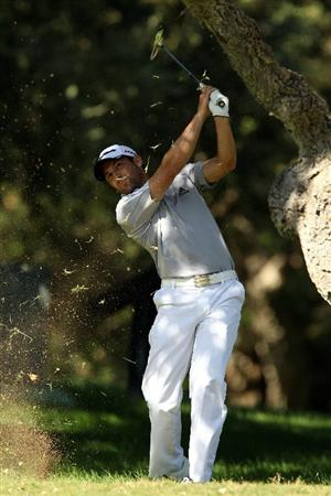 SOTOGRANDE, SPAIN - OCTOBER 27:  Sergio Garcia of Spain in action during the pro-am for the Andalucia Valderrama Masters at Club de Golf Valderrama on October 27, 2010 in Sotogrande, Spain.  (Photo by Richard Heathcote/Getty Images)