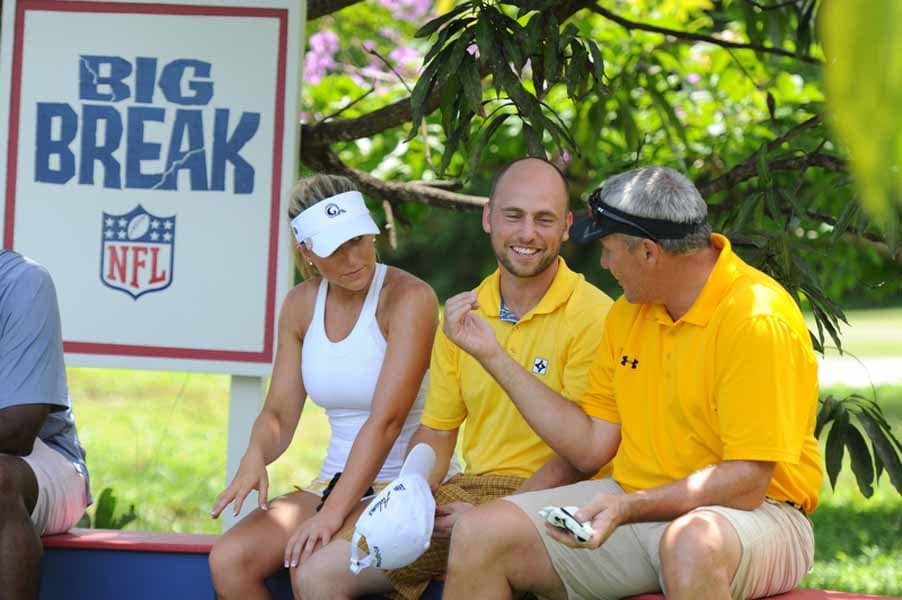 Team Rypien on Big Break NFL Puerto Rico